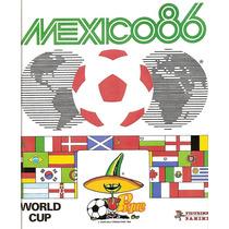 Álbum De Figurinhas Completo Copa Do Mundo 1986 Panini (dg)