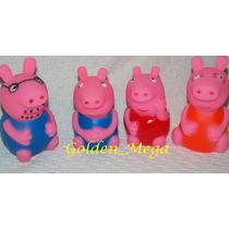 Família Peppa Pig Em Vínil