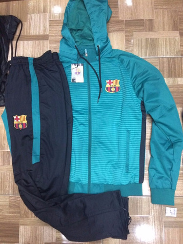 Agasalho Do Barcelona Conjunto Blusa E Calça Barça Time Liga à venda ... ac3e80752465e