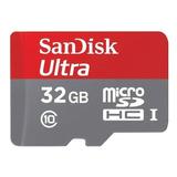 Cartão De Memória Sandisk Sdsqunc-032g-an6ma Ultra 32gb