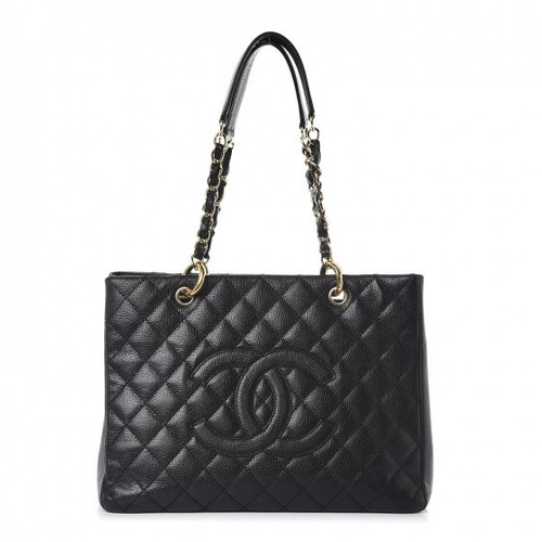 9d15c7297 Bolsa Chanel Shopper Gst Couro Caviar Ou Lambskin Na Caixa à venda ...