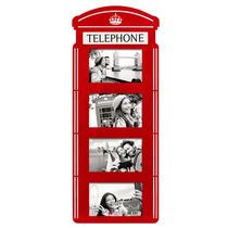 Porta Retrato De Parede Cabine Telefônica Londres