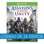 Jogo Assassin's Creed Unity Xbox One Código 25 Digitos