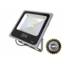 Refletor Led Holofote 20w Verde Bivolt Prova D