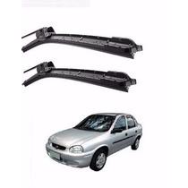 Kit Palhetas Silicone Dianteira Corsa Sedan 1996/2009