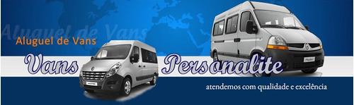 Locação De Vans À Partir De R$180,00