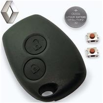 Logan Sandero Duster Capa Telecomando Controle Chave Alarme