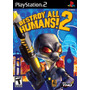 Jogo Destroy All Humans! 2 Original Para Playstation 2 A6708