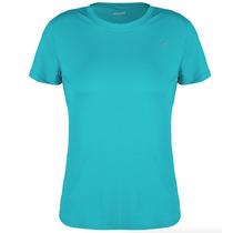 Camiseta Proteção Solar Uv Solo 50+ Fem Azul P