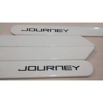 Friso Lateral Dodge Journey Branco Cor Original