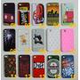 Capa Capinha Celular Apple Iphone 4 4s + Película De Vidro