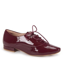 Sapato Oxford Feminino Lara - Vinho