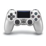 Controle Joystick Sony Dualshock 4 Silver