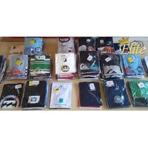 Kit 20 Camisetas Original Promoção Quiksilver Hurley Volcom