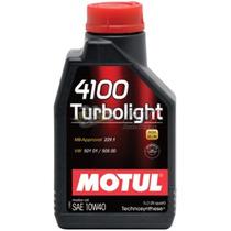 Óleo 10w40 Turbolight 4100 Motul Sintético 1lt