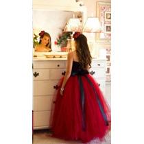 01 Vestido Longo De Festa 15 Anos Debutante - P Entrega