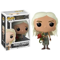 Boneco Funko Pop Daenerys Targaryen Game Of Thrones