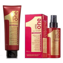 Kit Revlon Uniq One Red Leave In + Shampoo