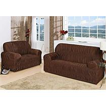 Capa Para Sofa 2x3 Lugares 21 Elasticos - Nanda Enxovais