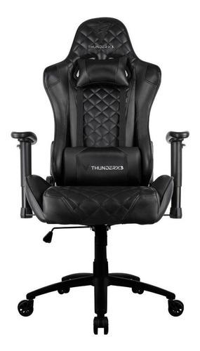 Cadeira De Escritório Thunderx3 Tgc12 Jogador Ergonômica Black