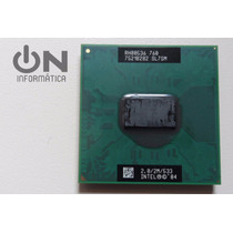 Processador Intel Pentium M 2.0 Ghz 2m 533 Mhz Socket 478