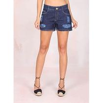 Shorts Jeans Desfiado Feminino Max Denim