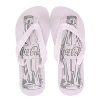 Chinelo Coca-cola Basic Cc0588 - Branco