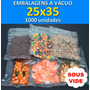 Embalagens Sous Vide 25x35 - 1000 Unidades