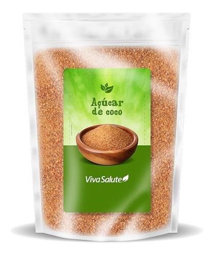Açúcar De Coco Natural 100% Puro  - 1 Kg - C/ Laudo E Nota!