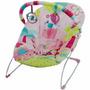 Cadeira Bebê Descanso Vibratória Musical  Mastela Rosa 6706