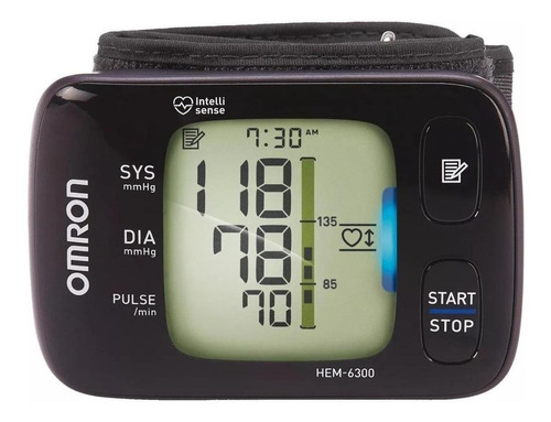 Medidor De Pressão Arterial Digital De Pulsoomron Hem-6300