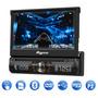 Dvd Quatro Rodas Mtc6617 1 Din Sd Usb Retrátil + Gps Outlet