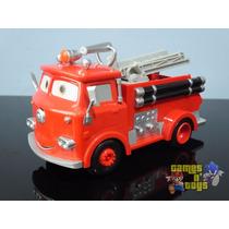 Carros Disney Red Ruivo Bombeiro À Fricção E Som 23cm