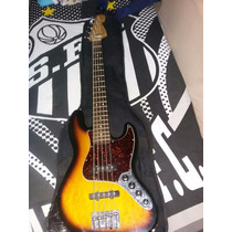 Baixo Fender Jazz Bass Deluxe Series 5 Cordas
