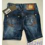 Bermuda Jeans Oppnus Feminina Cós Médio Lycra Coleção 2016
