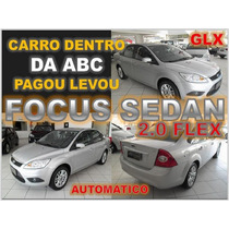 Focus Sedan Glx 2.0 Flex - Ano 2013 -financio Sem Burocracia
