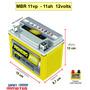 Bateria Moto Dafra Roadwin 250r 12v 11ah