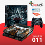 Skin Capa Playstation 4 Ps4 Adesivo Assassin