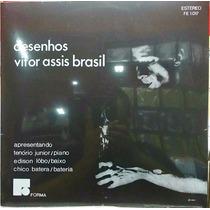 Lp Vitor Assis Brasil - Desenhos (1966) Lacrado