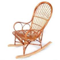 Cadeira De Balanço Em Vime