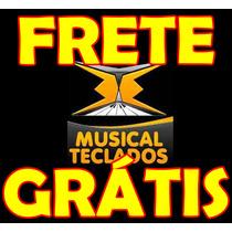 Kit 5 Borrachas Teclado Piano Yamaha Psr-e323 Frete Grátis