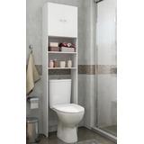Armário Multimóveis P/ Banheiro 2 Portas Branco Ref.