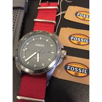 Relógio Da Fossil Original / Usado C/ 5 Pulseiras + Caixa
