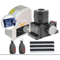 Kit Motor Portão Eletrônico Omegasat 110v 1/4hp Fácil Instal