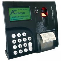 Relógio De Ponto Biométrico+software Grátis E 1 Ano De Sup
