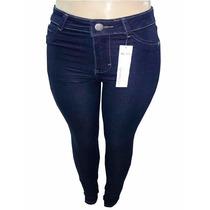 Calça Jeans Feminina Calvin Klein Hot Pants Azul Escuro
