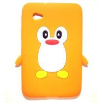 Capa P/ Tablet Samsung Galaxy Tab 7 Poleg - Pinguim+película