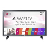 Smart Tv Monitor LG 24  Led Wi-fi Webos 3.5 Dtv Time Machin