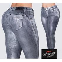 bbd5fd615 Cigarrete Jeans Resinado Cinza Pit Bull Original Ref. 27656