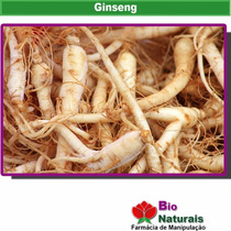 Ginseng 300mg - 120 Cápsulas - Estimulante Sexual - 128